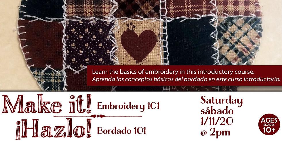Make It! Embroidery Sampler
