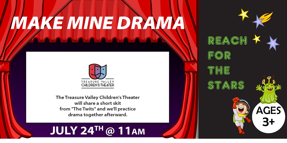 Reach for the Stars: Treasure Valley Children's Theatre