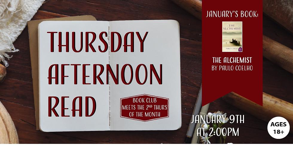 Thursday Afternoon Read: The Alchemist