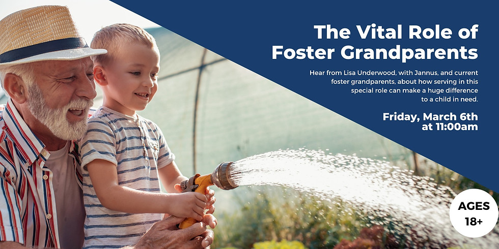 The Vital Role of Foster Grandparents