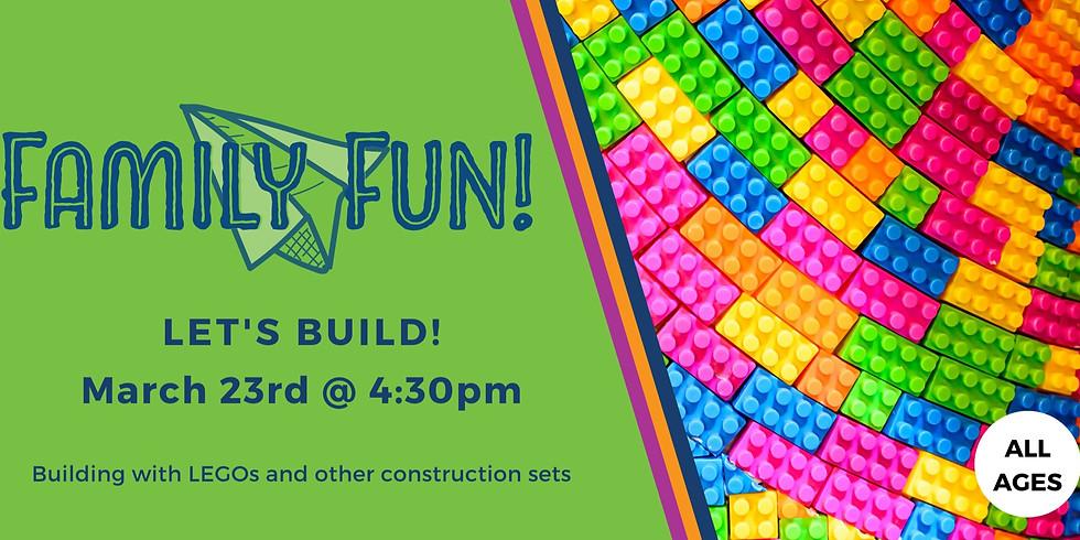 Family Fun! LEGO Day