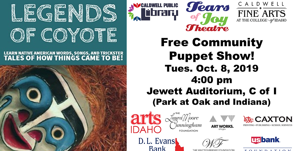 Legends of Coyote Puppet Show