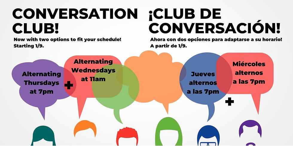 Conversation Club!