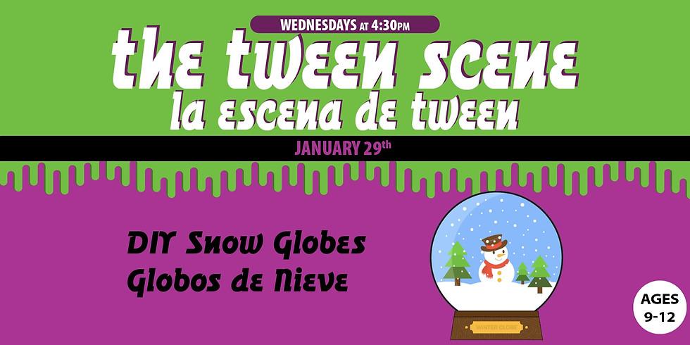 Tween Scene: DIY Snow Globes