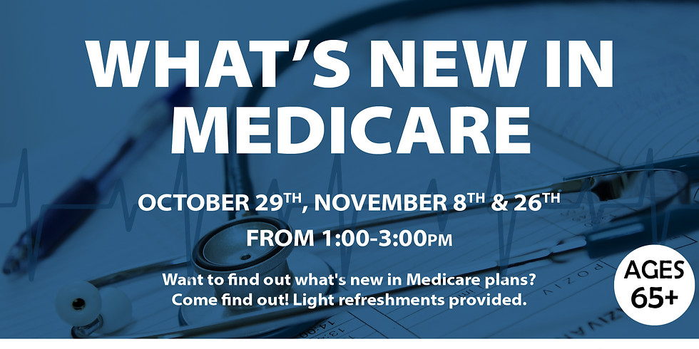 What's New in Medicare: Session 1