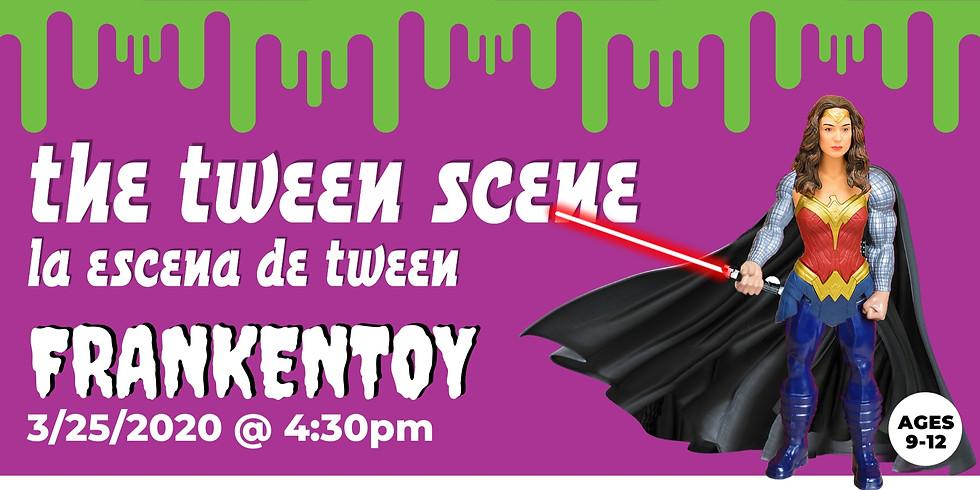 Tween Scene: FrankenToy
