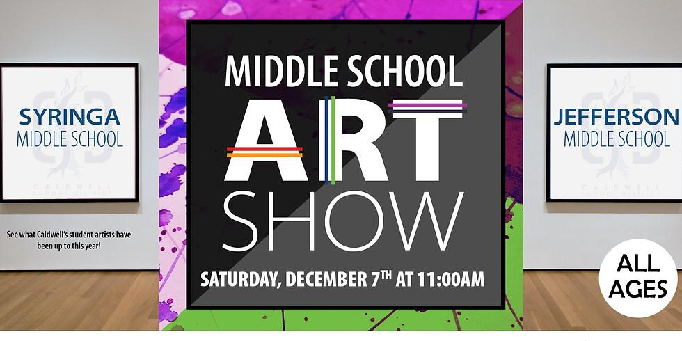 Middle School Art Show