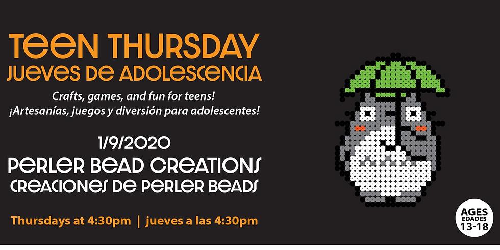 Teen Thursday: Perler Beads
