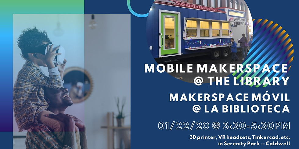 Mobile Makerspace at the Library
