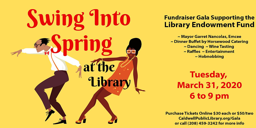 Swing into Spring at the Library Gala