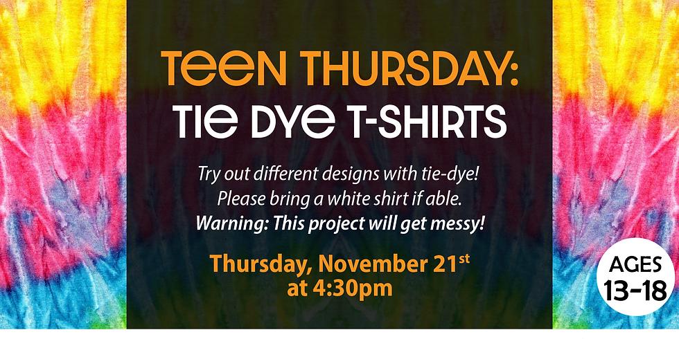 Teen Thursday: Tie-Dye