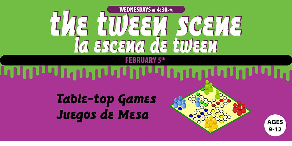 Tween Scene: Table-top Games