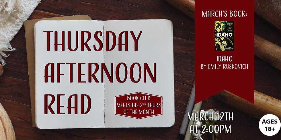 Thursday Afternoon Read: Idaho