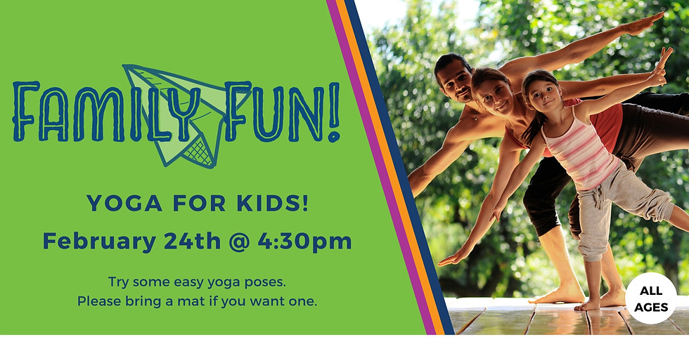 Family Fun! Yoga for Kids
