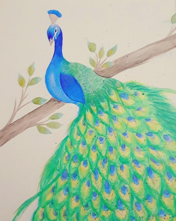 The Emerald Peacock