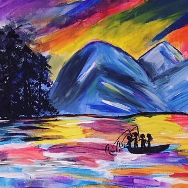 Colourful Lake