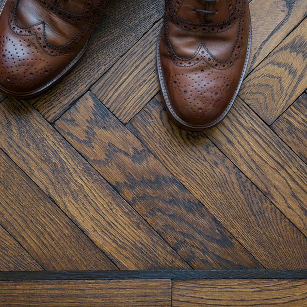 Design Flooring Tumbled Oak with hardwax