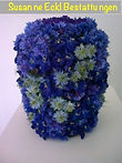 florale Urne, alternative Bestattung