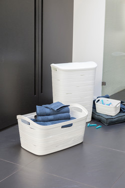 Ribbon- Hamper and Laundry Basket