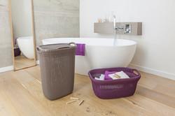 Curver- Knit Hamper and Laundry Basket