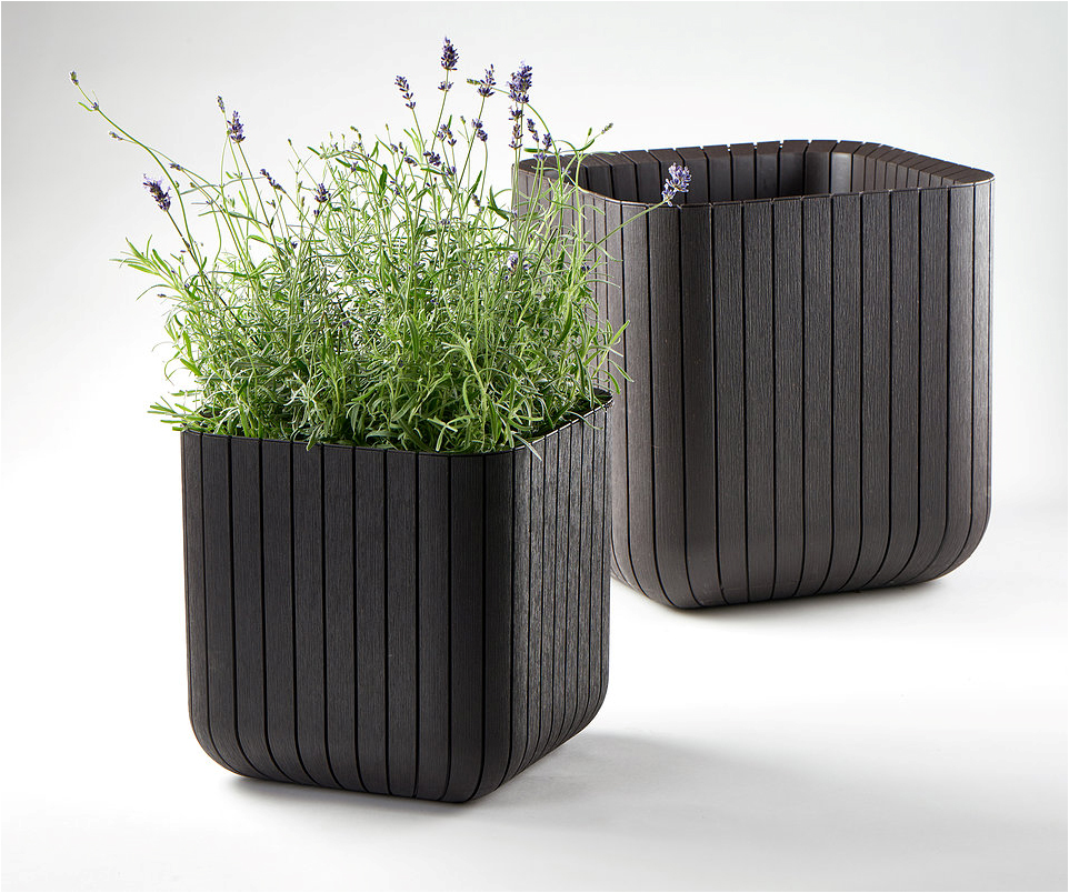 KETER-Wood planters