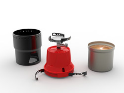 PLASTOKIT- Camping Burner- coffee