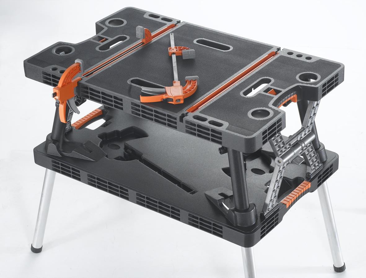 Folding Work Table-open