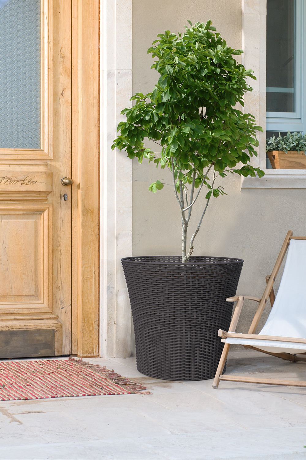 KETER- Large Woven Planter