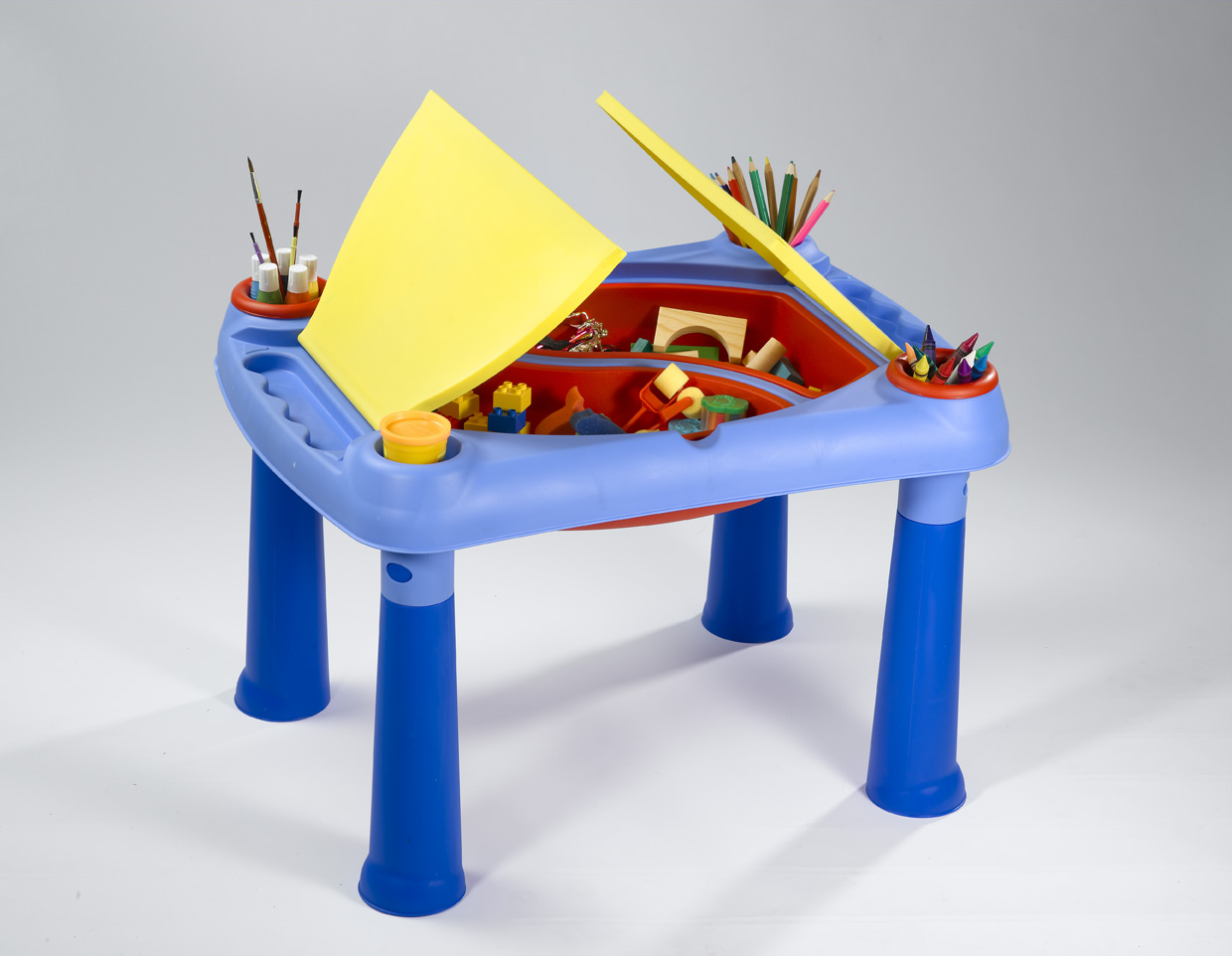KETER-Creative Play table + 2 Stools