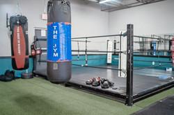 Boxing Ring & Heavy Bag