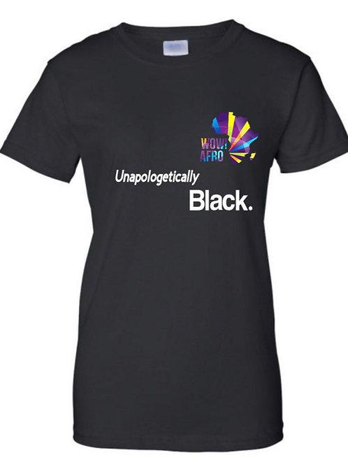 SIMPLY -UNAPOLOGETICALLY BLACK TSHIRT