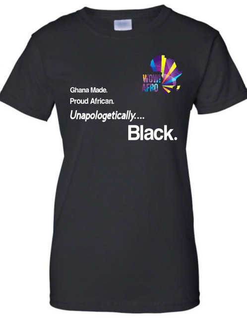 UNAPOLOGETICALLY BLACK TSHIRT