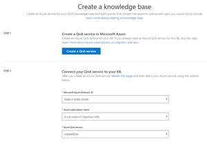 Microsoft QnA Maker – A Bot-Powered Knowledge Base