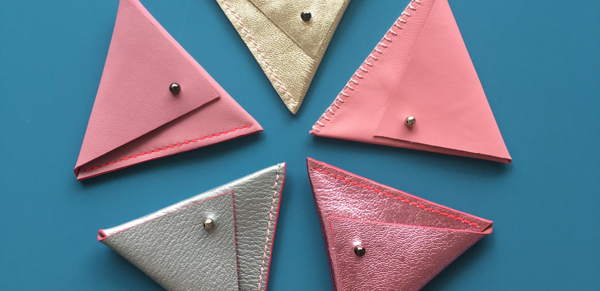 Asymmetrical Triangle pouch