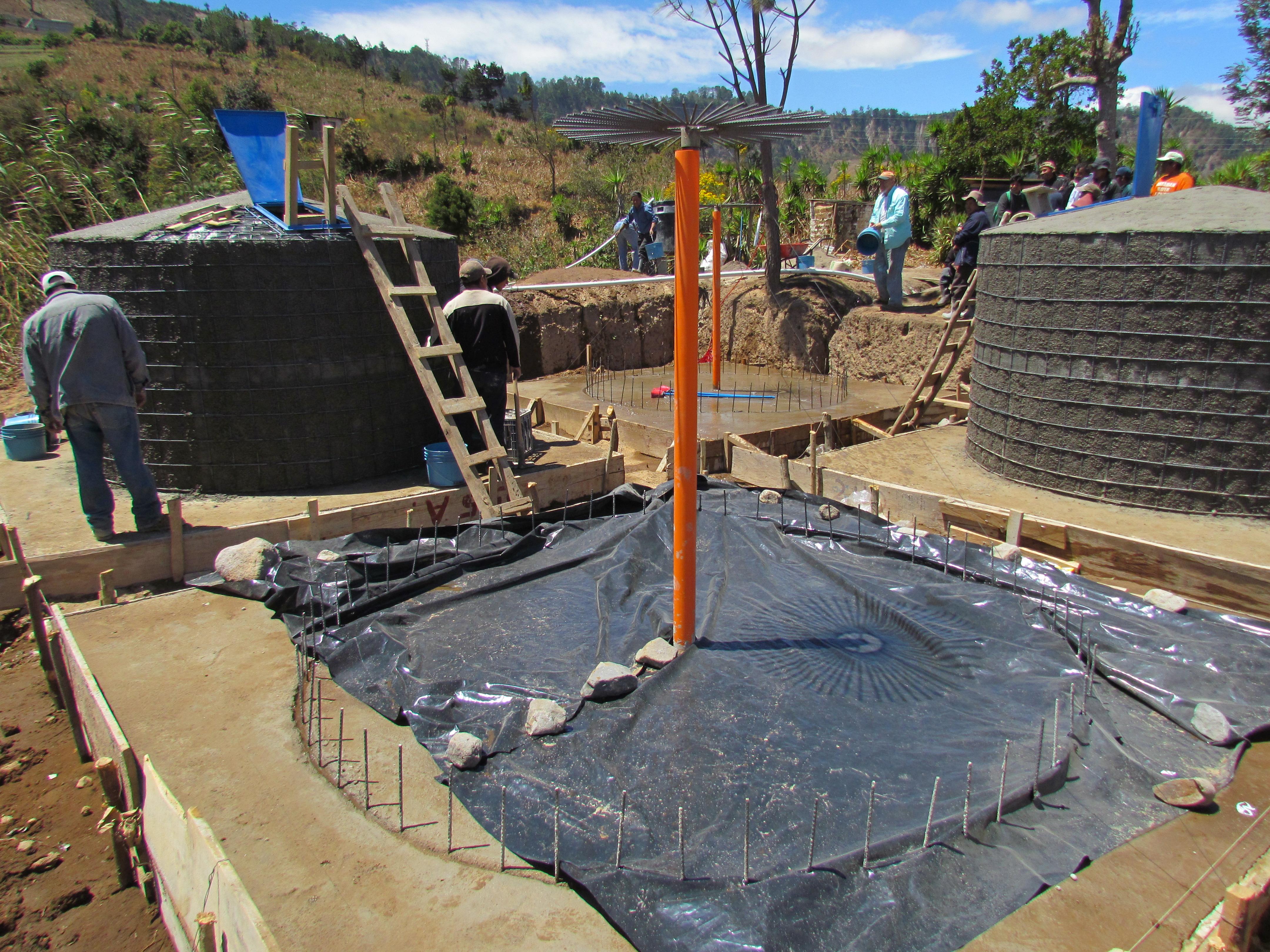 Tank Construction - 2013