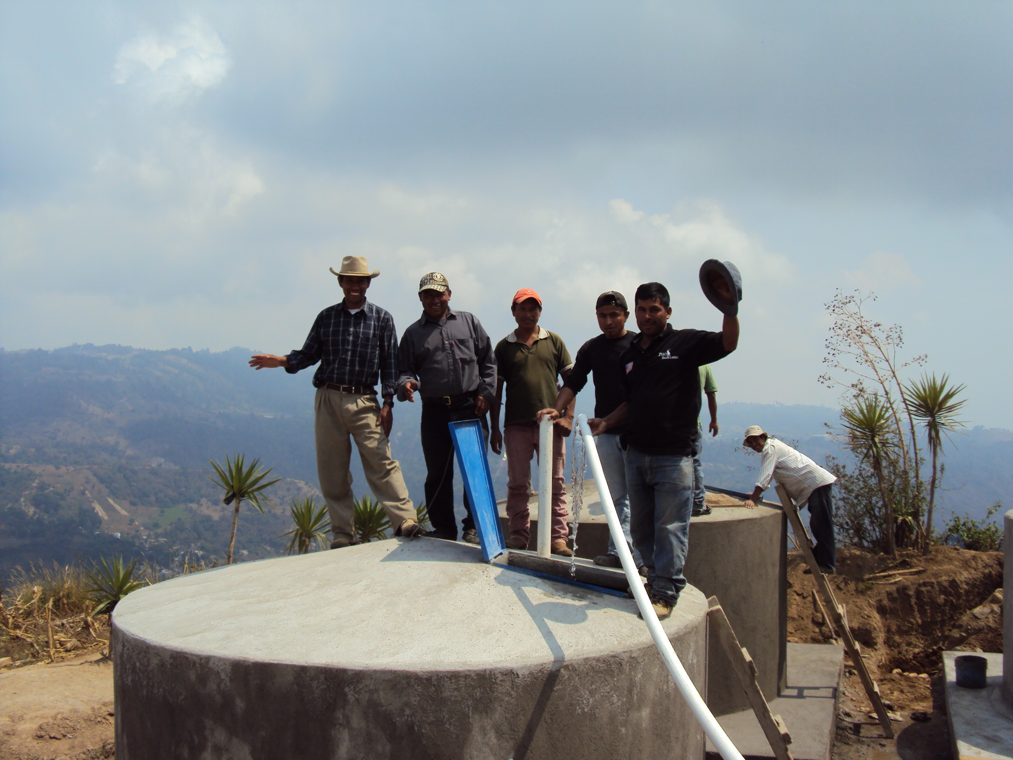 Completed Water Tank - 2013