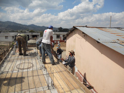 Roof of Bathrooms - 2012