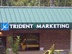Channel Lettering Trident M