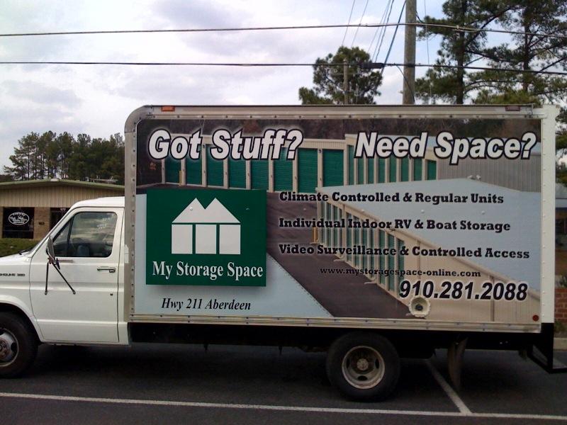 My storage space