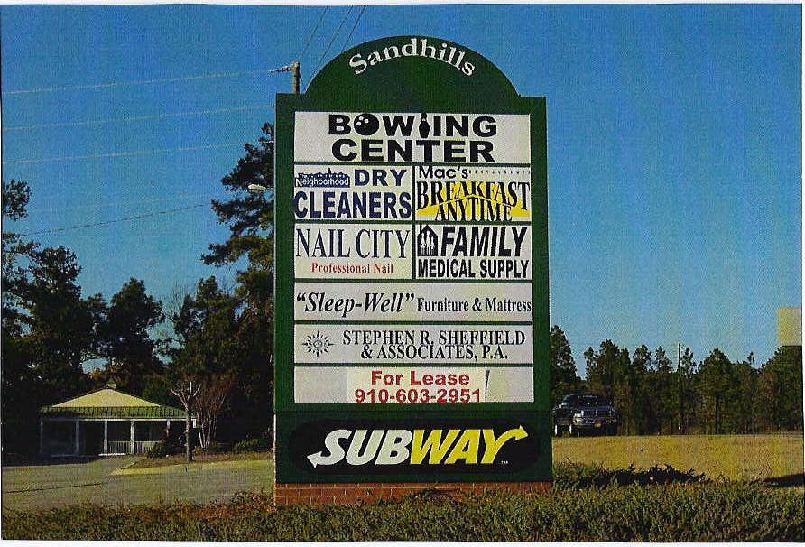 Sign Sandhills