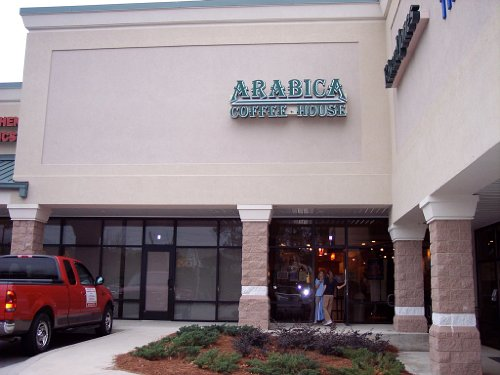 Channel Letters Arabica