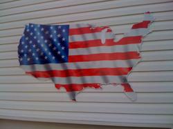 Daeke USA flag