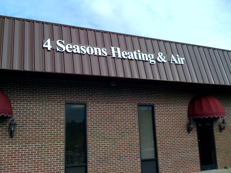 4 Seasons Channel Letters