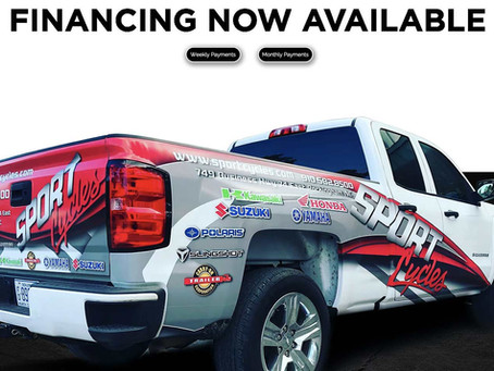 Take Your Signage Goals to the Next Level With Financing Options!