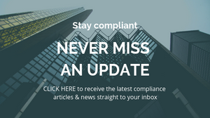 Click to subscribe to receive the latest compliance news straight to your inbox