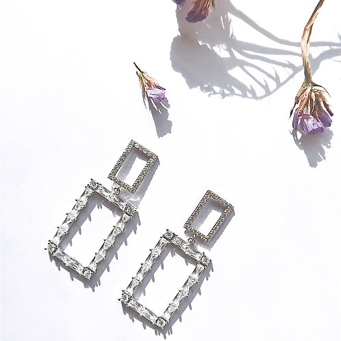 CRYSTAL JEWEL EARRINGS