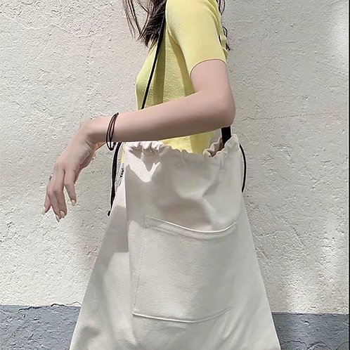 Portable Canvas Tote Bag