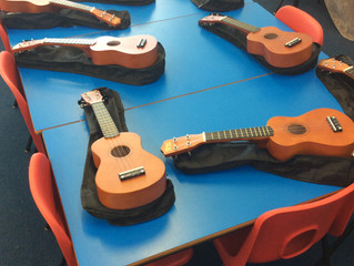 Year 1 have been feeling musical.