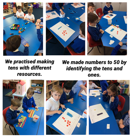 We have been busy in Hazel class!