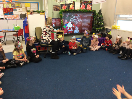 Party day for Hazel class